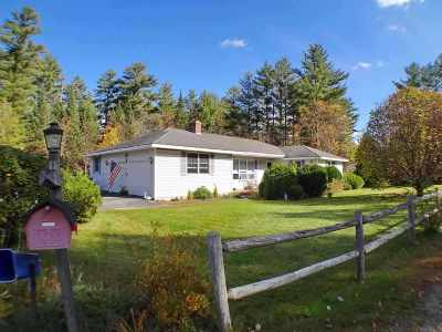 Littleton NH Single Family Home For Sale: $234,900