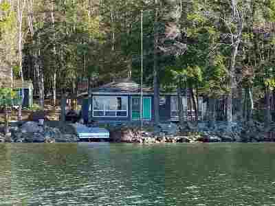 Gilford Single Family Home For Sale: 24 Welch Island