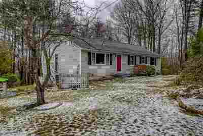 Milford Single Family Home Active Under Contract: 14 Dear Lane