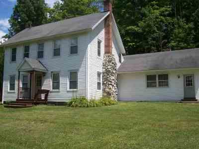 Castleton Single Family Home For Sale: 2940 Vt Route 30 Route