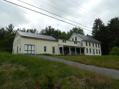 Bradford Single Family Home For Sale: 3031 State Highway Route 114