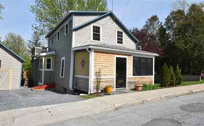 Middlebury Single Family Home Active Under Contract: 46 Shannon Street