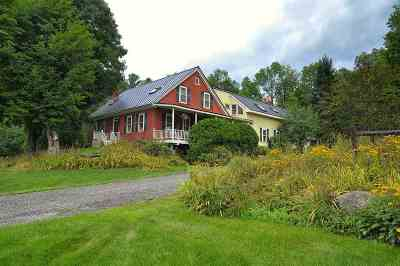 Stowe Single Family Home For Sale: 3376 Mountain Road