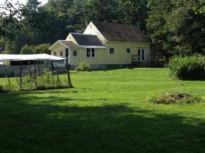 East Montpelier Single Family Home For Sale: 3320 Vt Route 14 N