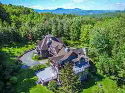 Stowe Single Family Home For Sale: 3090 Stowe Hollow Road