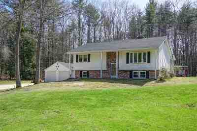 Dover Single Family Home Active Under Contract: 70 Watson Road