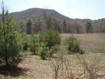 Poultney Residential Lots & Land For Sale: Route 30