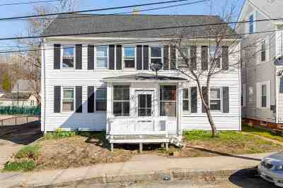 Somersworth Multi Family Home For Sale: 49 Franklin Street