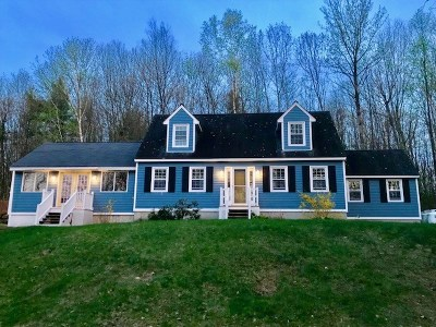 Goffstown Single Family Home For Sale: 567 Black Brook Road