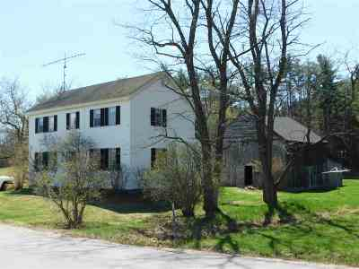 Hebron Single Family Home For Sale: 55 Groton Road