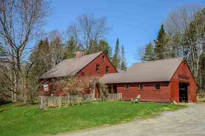 Caledonia County Single Family Home For Sale: 285 Appleton Perry Drive