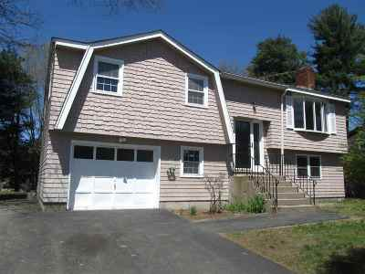 Merrimack Single Family Home Active Under Contract: 201 Naticook Road