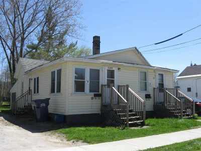 St. Albans City Multi Family Home For Sale: 51 Cedar Street