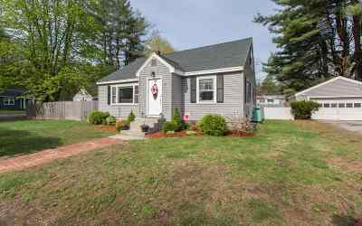 Salem Single Family Home Active Under Contract: 22 Messer Avenue