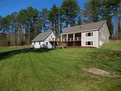 Bradford Single Family Home Active Under Contract: 1062 Rowell Brook Road