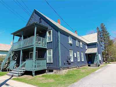 Chittenden County Multi Family Home For Sale: 72-78 Lafountain Street