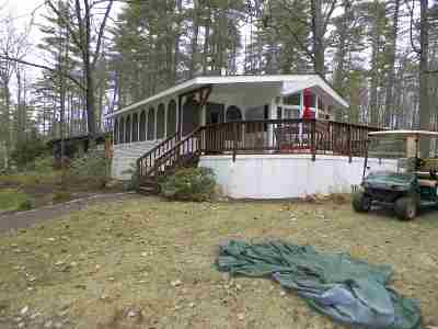Moultonborough Condo/Townhouse For Sale: 201-1 Hanson Mill With End Dock 34 Road #1