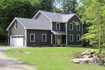 Chittenden County Single Family Home For Sale: 499 Duffy Road