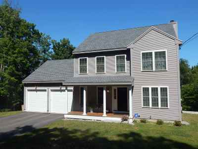 Henniker Single Family Home Active Under Contract: 141 Depot Hill Road