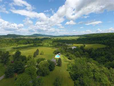 Addison County, Chittenden County Single Family Home For Sale: 736 Tulley Road