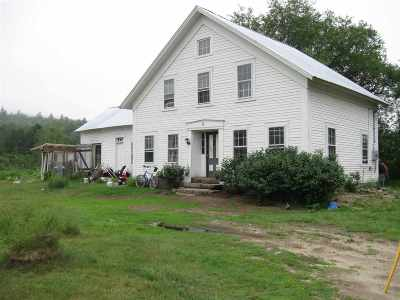 Grafton Single Family Home For Sale: 31 Hoyt Road