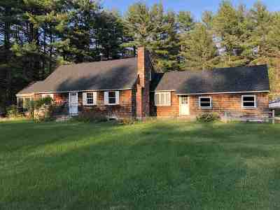 Hollis Single Family Home For Sale: 39 Rocky Pond Road