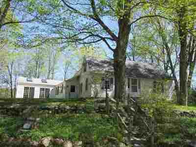 Francestown Single Family Home Active Under Contract: 96 Oak Hill Road