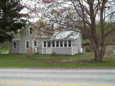 Poultney Single Family Home For Sale: 3252 Rt 30 Route Road