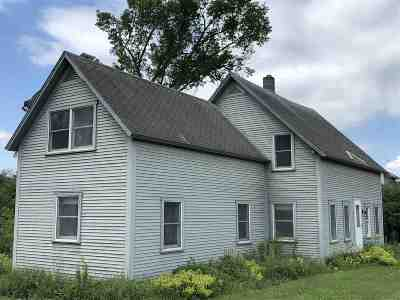 Addison County, Chittenden County Single Family Home For Sale: 1966 South Lincoln Road