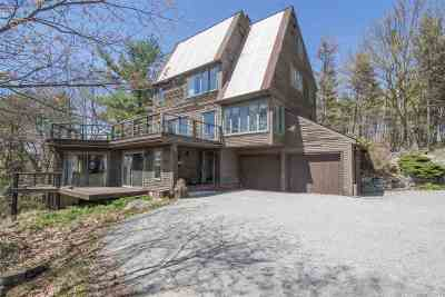 Henniker Single Family Home For Sale: 347-349 Mount Hunger Rd.