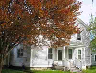 Vergennes Multi Family Home For Sale: 64 West Main Street #64 A&amp