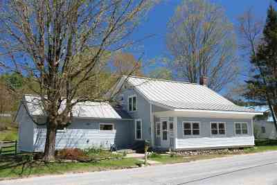 Addison County, Chittenden County Single Family Home For Sale: 1768 West River Road