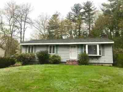Salem Single Family Home For Sale: 57 Atkinson Road