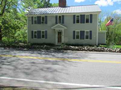 Merrimack Single Family Home For Sale: 31 Naticook Road