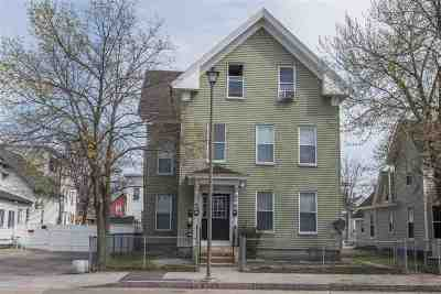 Manchester Multi Family Home For Sale: 196 Laurel Street