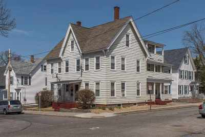 Manchester Multi Family Home Active Under Contract: 172 Brook Street