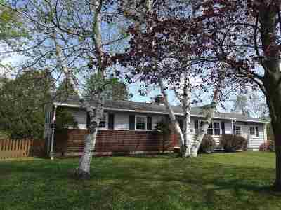Rutland City VT Single Family Home Active Under Contract: $169,500