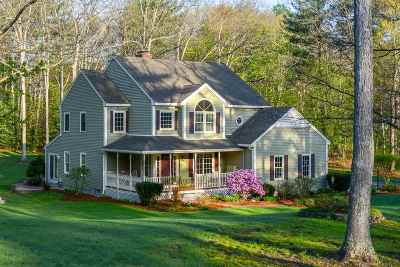 Amherst Single Family Home Active Under Contract: 5 Sargent Quarry Road