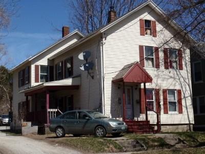 Rutland, Rutland City Multi Family Home For Sale: 17 Hopkins St