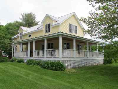 East Montpelier Single Family Home For Sale: 3205 North Street