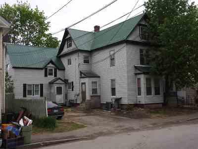 Laconia Multi Family Home For Sale: 72 Batchelder Street