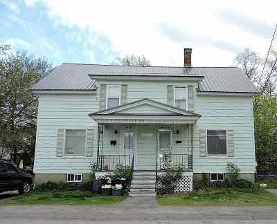 Laconia Single Family Home For Sale: 37-39 Howard Street