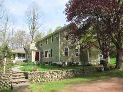 Poultney Single Family Home For Sale: 495 Hampshire Hollow Road