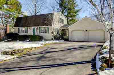 Nashua Single Family Home Active Under Contract: 6 Mapleleaf Drive