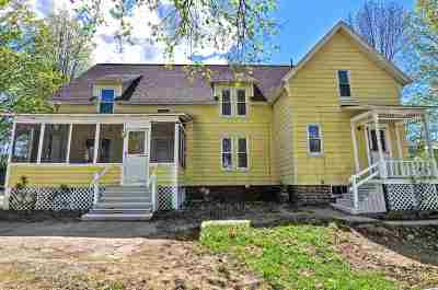 Concord NH Multi Family Home Active Under Contract: $249,900