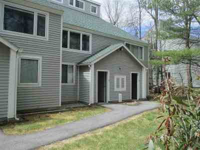 Waterville Valley Condo/Townhouse For Sale: 11 White Cap Way