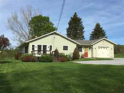 Chittenden Single Family Home For Sale: 93 West Road