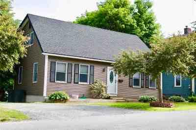 Rutland, Rutland City Single Family Home For Sale: 48 Engrem Avenue