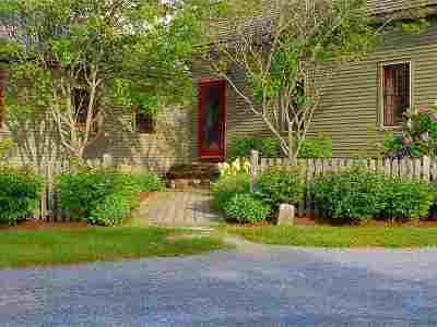 Charlotte Single Family Home Active Under Contract: 710 Hinesburg Road