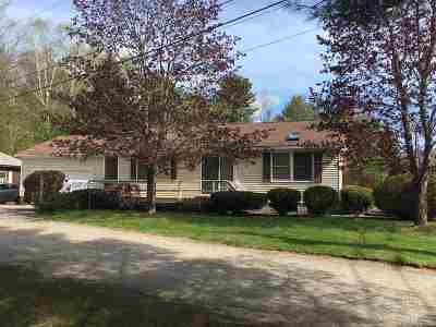 Lincoln NH Single Family Home Active Under Contract: $279,900
